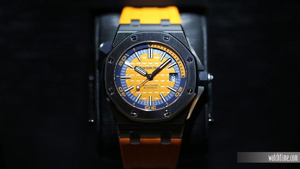 Audemars Piguet: Royal Oak Offshore Diver, orange