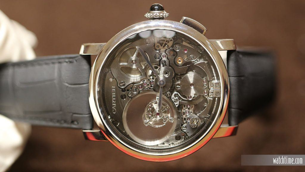 Cartier: Rotonde de Cartier Minute Repeater Mysterious Double Tourbillon