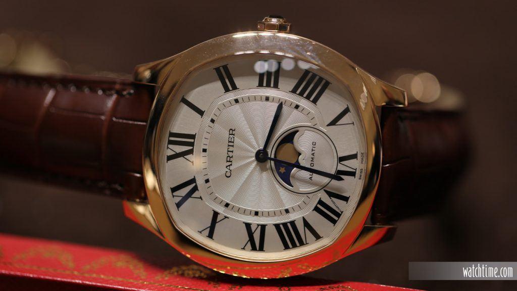 Cartier: Drive de Cartier Moon Phase, pink gold