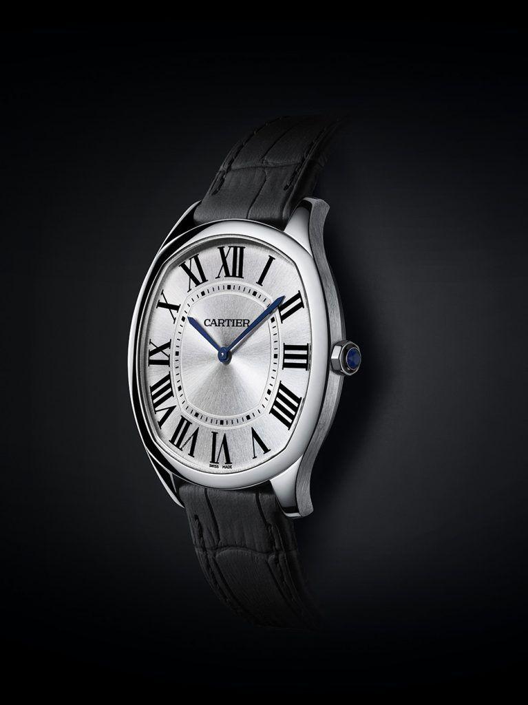 Cartier: Drive de Cartier Extra-Flat, white gold