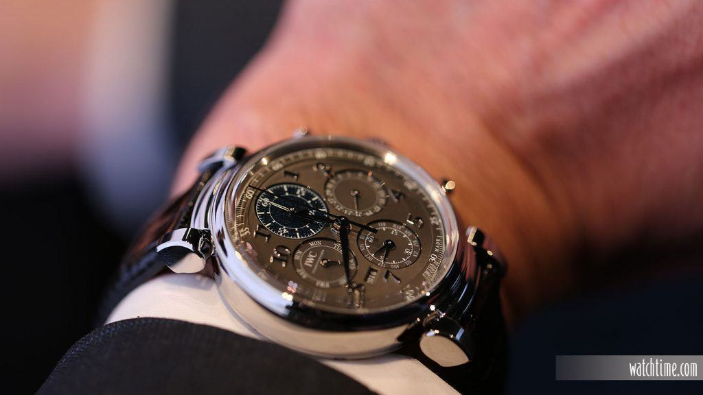 IWC: Da Vinci Perpetual Calendar Chronograph
