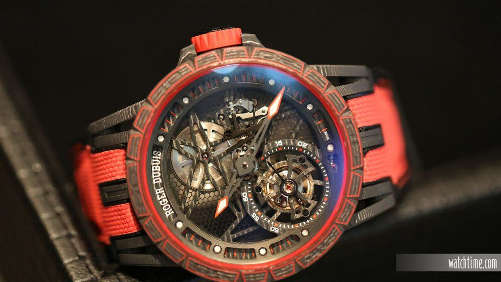 Roger Dubuis. Excalibur Spider Full Carbon