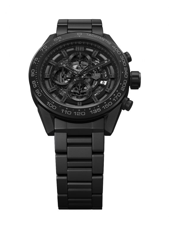TAG Heuer Carrera Heuer-01 Matte Black Ceramic - soldaat