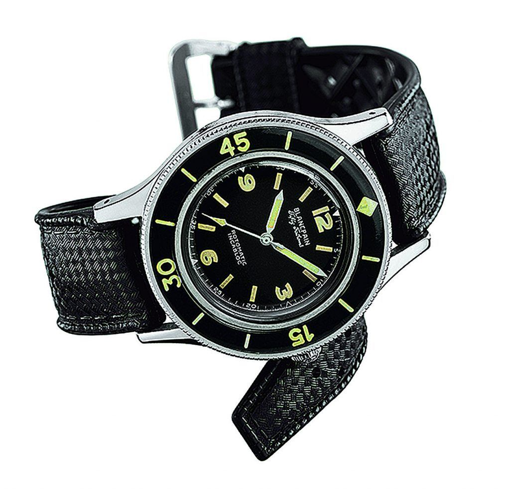 Blancpain Fifty Fathoms, initial Model, 1953