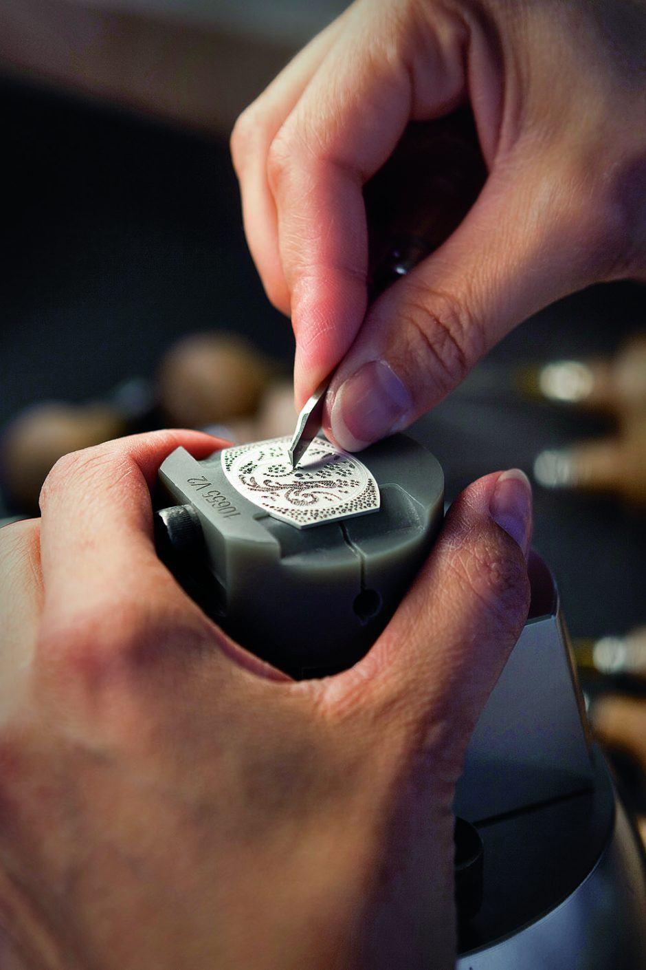 Patek Philippe dial making