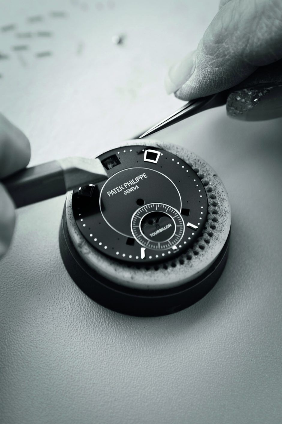 Patek Philippe dial making process by hand