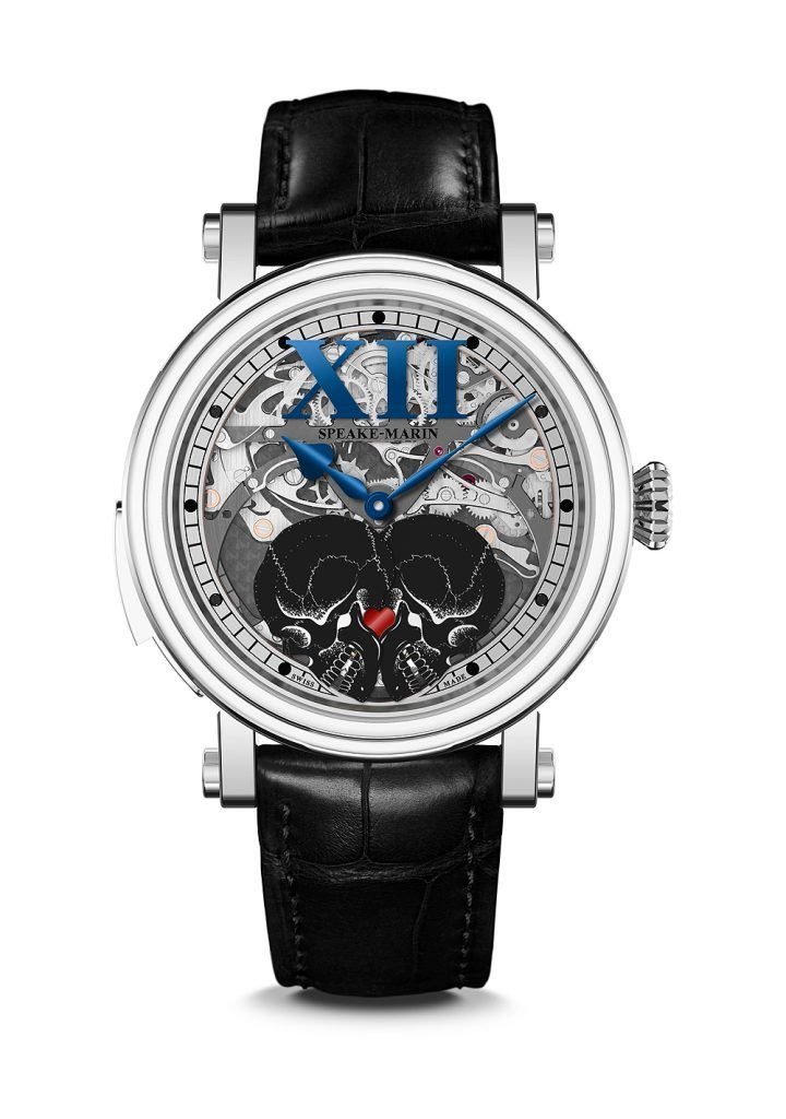Speake-Marin Crazy Skulls, closed