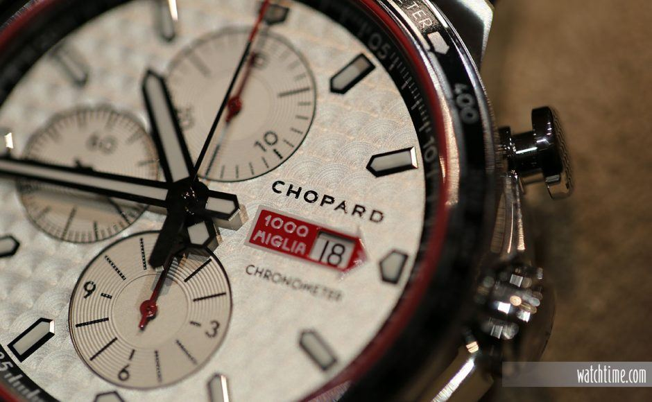 Chopard Mille Miglia 2017 Race Edition, dial