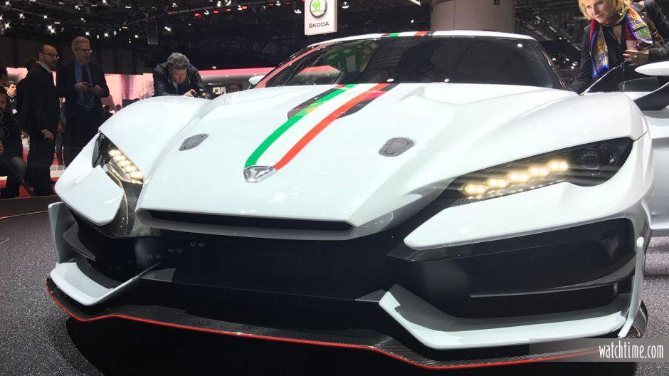 Italdesign OneOff Special Car, closeup