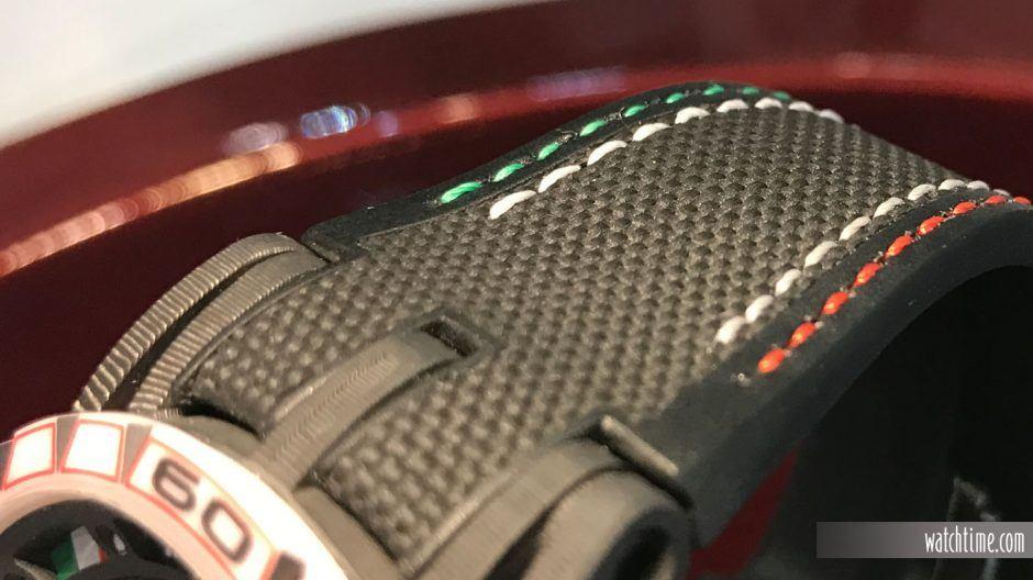 Roger Dubuis Excalibur Spider Italdesign Edition, strap