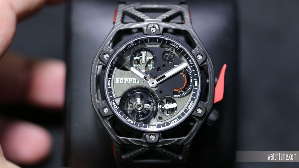 408.NI.0123.RX-SD-HR-W Techframe Ferrari Tourbillon Chronograph