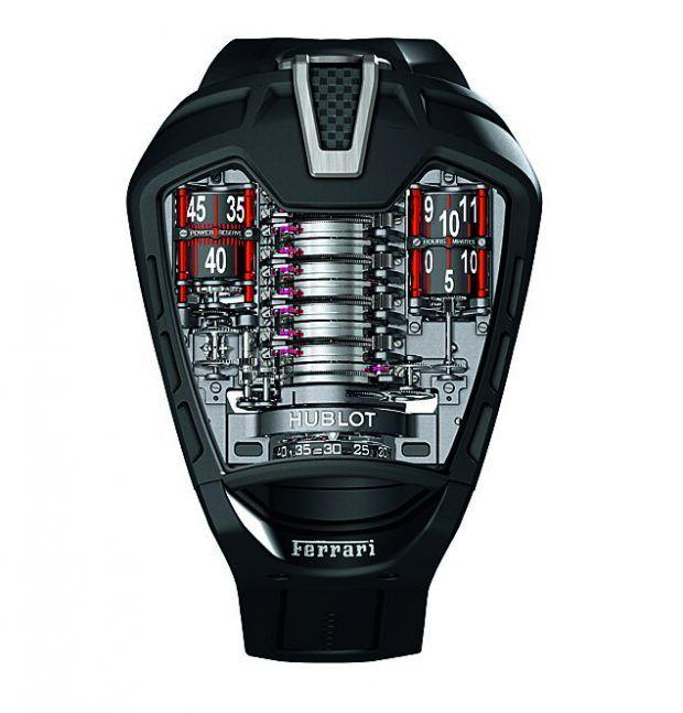 Hublot MP-05 La Ferrari, 50 pieces, PVD-coated titanium
