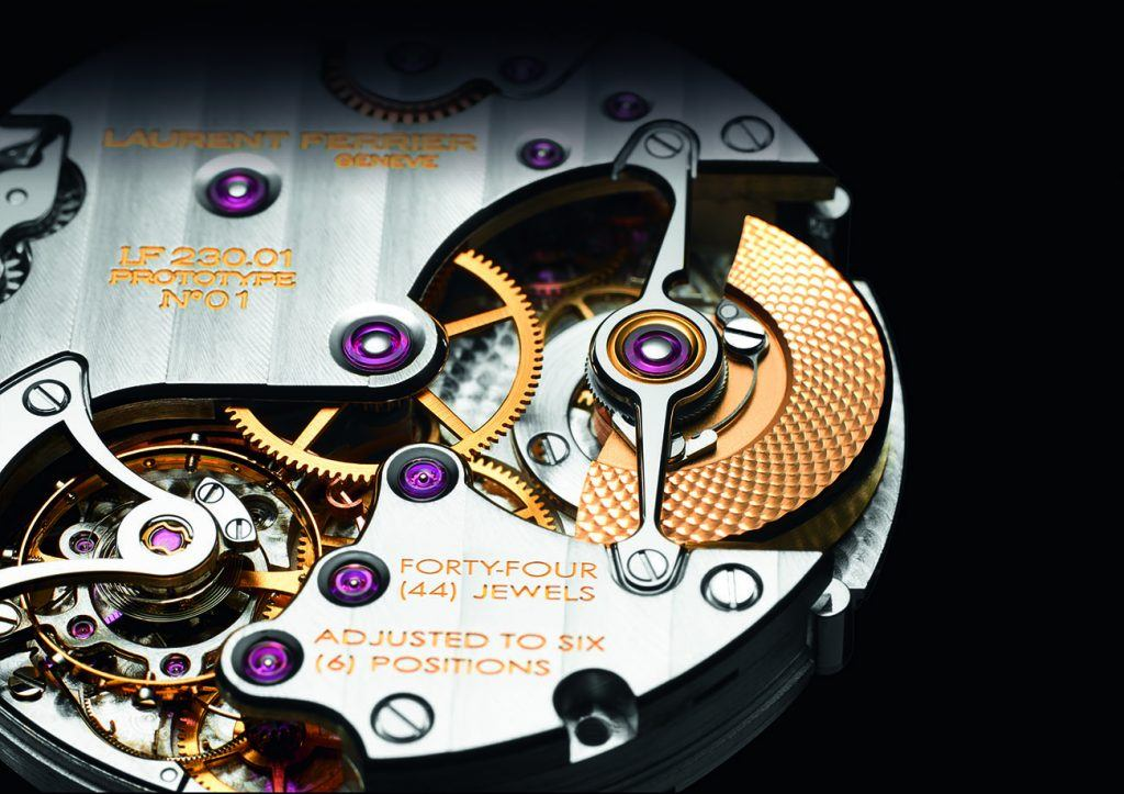 Ferrier added a GMT function to its Micro-Rotor caliber to make the movement for the Galet Traveller.
