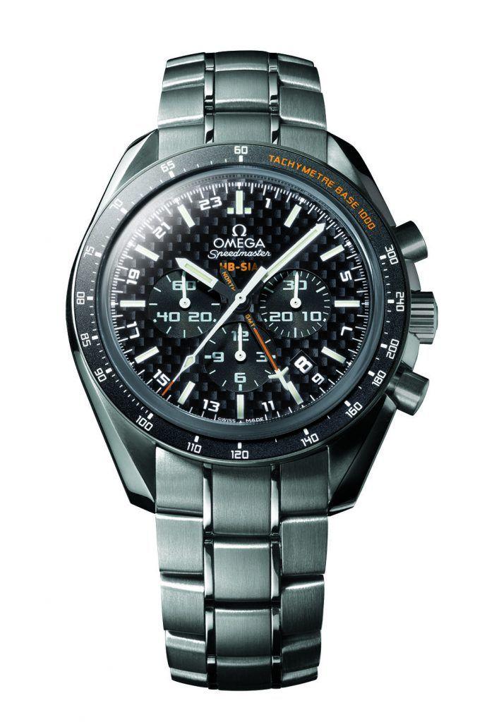 """Omega Speedmaster """"HB-SIA"""" GMT (2008)"""