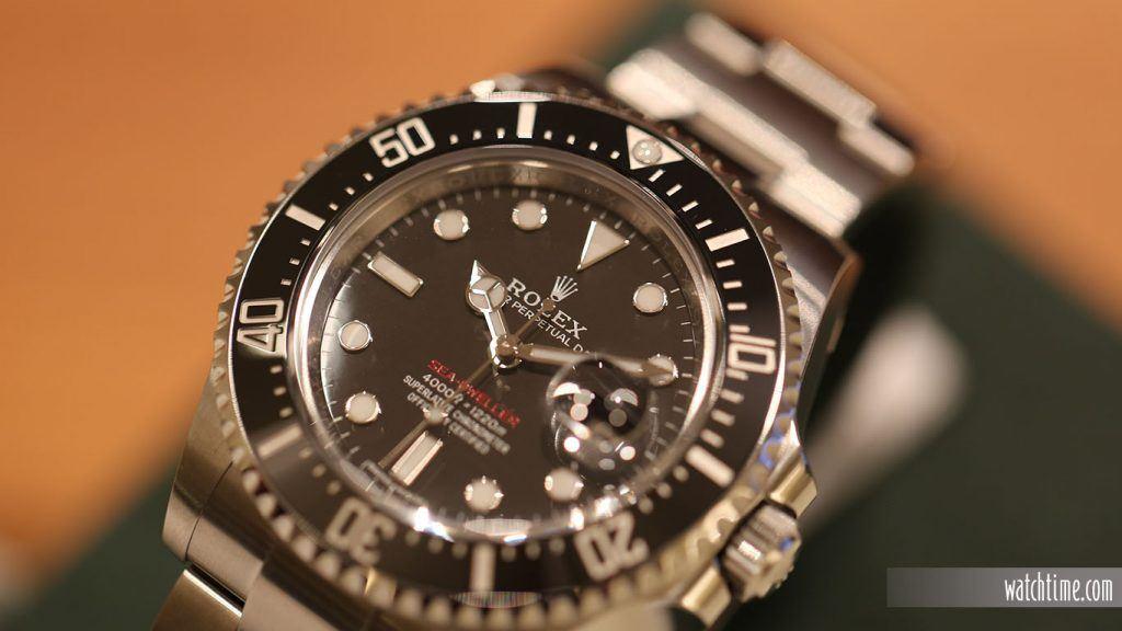 Rolex: new Sea-Dweller