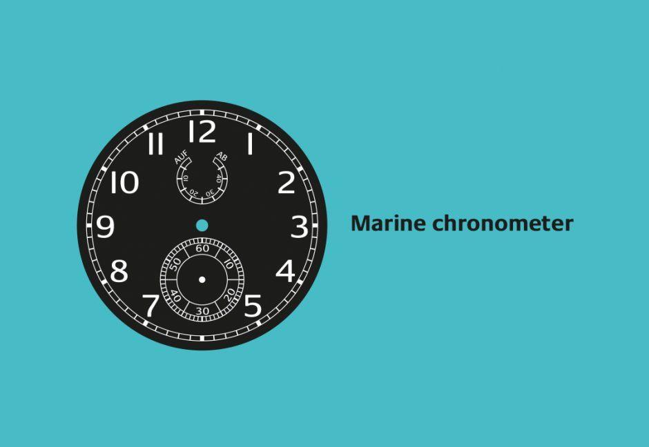 Distinctive Watch Dials: Marine Chronometer