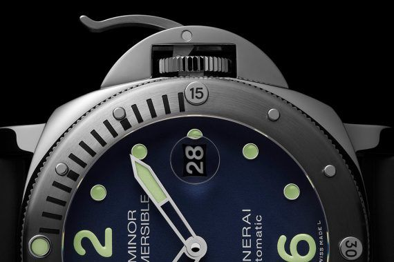 Panerai Luminor Submersible Acciaio LE - dial CU