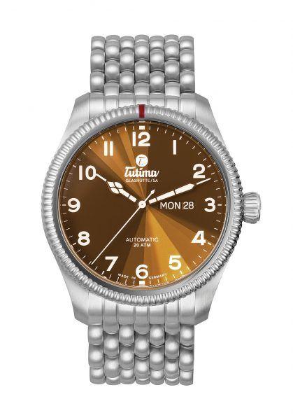 Tutima Grand Flieger - brown dial