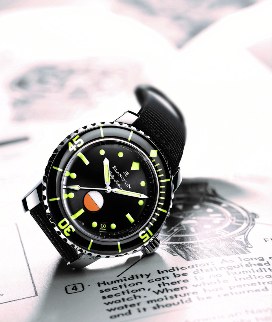 """Blancpain Tribute To Fifty Fathoms Mil-Spec """"Only Watch unique piece"""""""