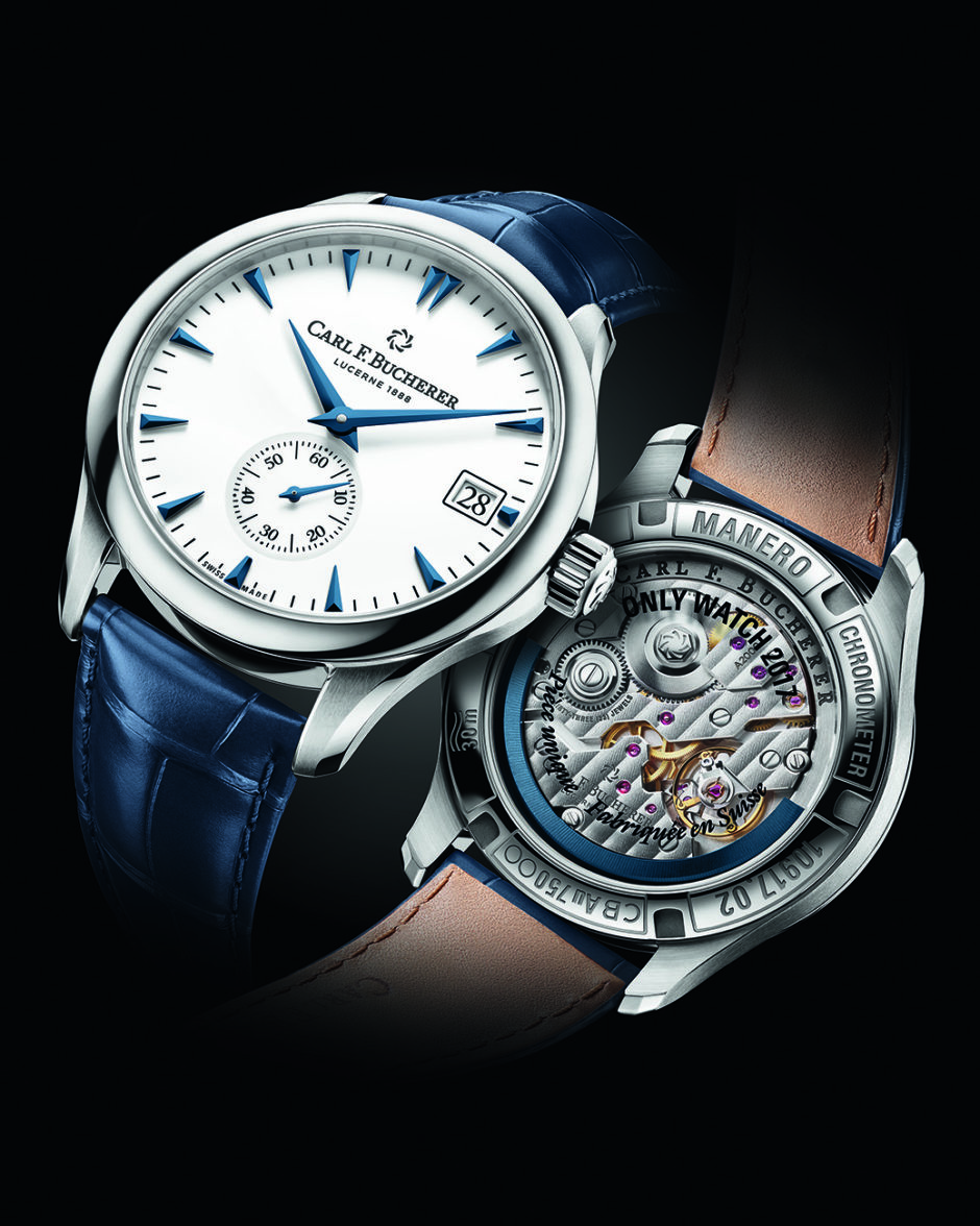 Carl F. Bucherer Manero Peripheral Only Watch 2017