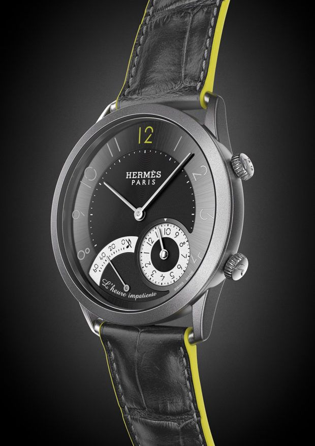 Hermès Slim D'Hermès L'Heure Impatiente, Only Watch edition