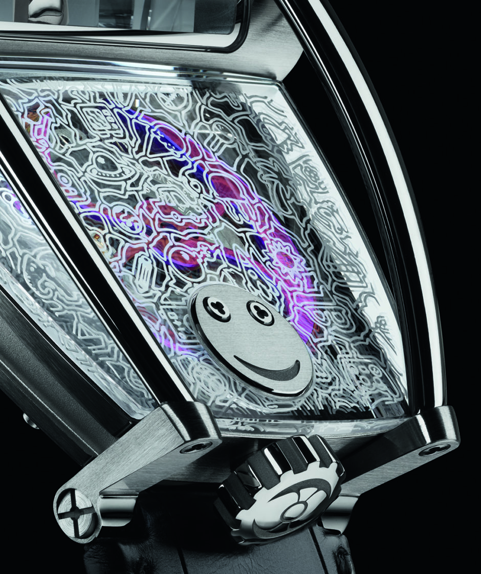 MB&F HM8 Only Watch, Close-up