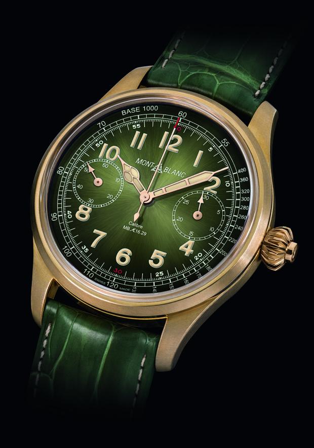 Montblanc 1858 Chronograph Tachymeter Unique Piece Only Watch'17