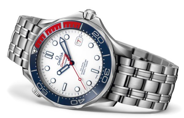 Omega Seamaster 300M Commanders Watch Limited Edition, steel bracelet