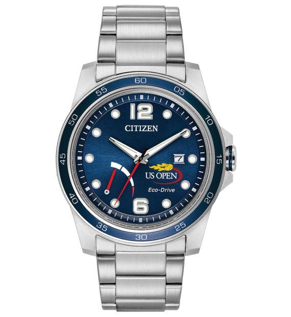 Citizen U.S. Open 25th Anniversary Commemorative Watch - front