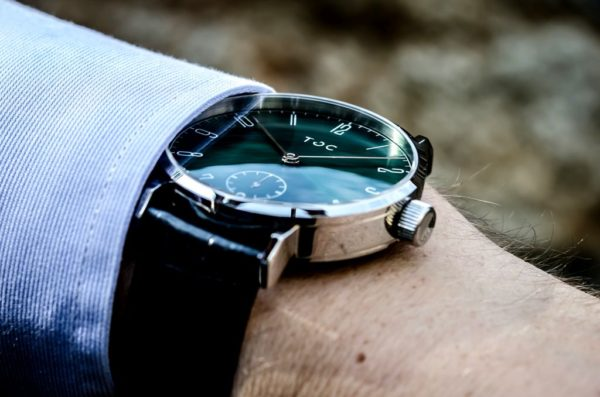 Toc Watch Toc19: Sunray Emerald Green