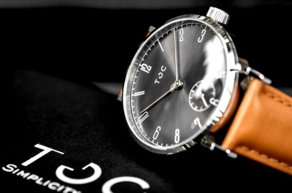 Toc Watch Toc19: Sunray Graphite Grey