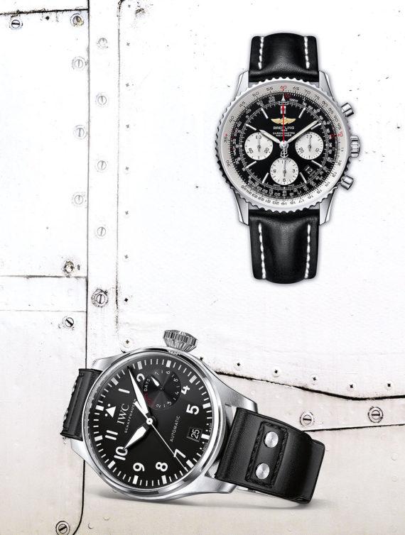 Breitling Navitimer & IWC Big Pilot Watch