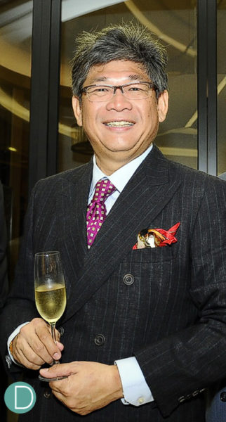 Peter Chong, Founder and Editor in chief of Deployant.com and Watchstars Awards Jury Member