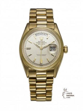 First Rolex Day-Date, 1956