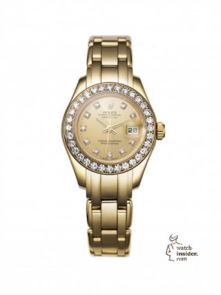 First Rolex Lady Datejust Pearlmaster, 1992