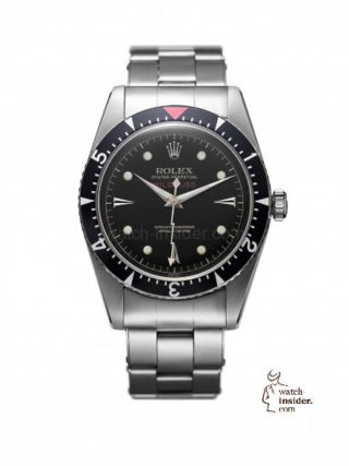 First Rolex Milgauss, 1956