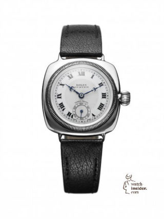 First Rolex Oyster, cushion-shaped, 1926