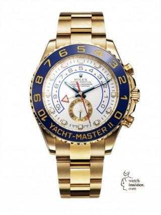 First Rolex Yacht Master II, 2007