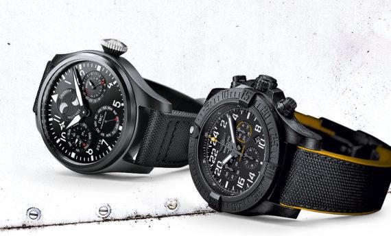 Часы IWC & Breitling для военных летчиков