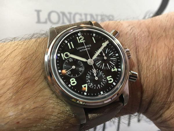 Longines Avigation BigEye - wrist