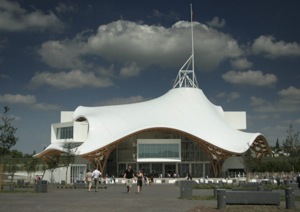The Centre Pompidou-Metz Museum of Modern and Contemporary Art in Metz, France