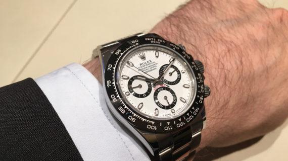 Rolex Evergreen - Daytona - wrist