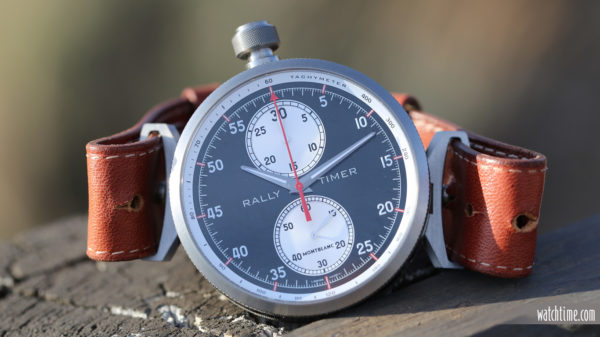 The Montblanc TimeWalker Rally Timer Chronograph