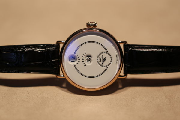 The new IWC Tribute to Pallweber.
