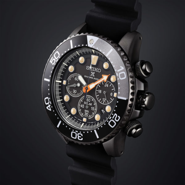 The Seiko Prospex Solar Diver Chronograph SSC673P1