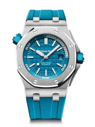 The Royal Oak Offshore Diver Topical Turquoise