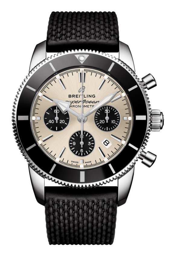 Breitling Superocean Heritage II B01 Chronograph 44 - silver dial