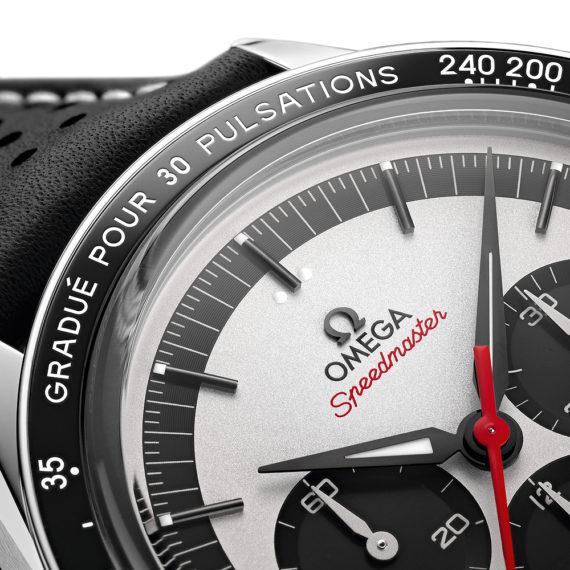 Omega Speedmaster CK 2998 LE - bezel CU
