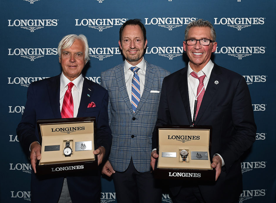 Longines Kentucky Derby watch presentation