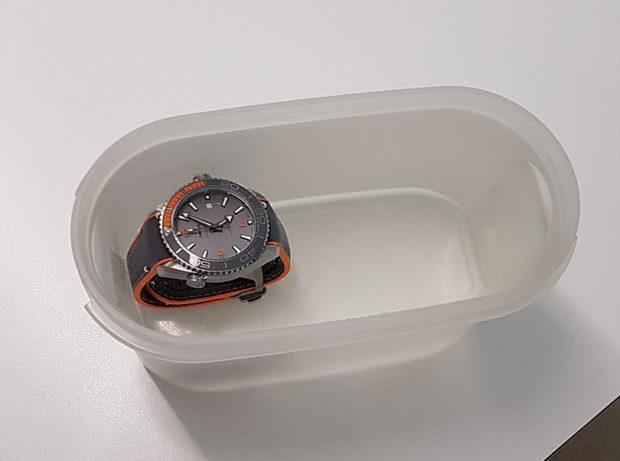 Omega MRT water test 1